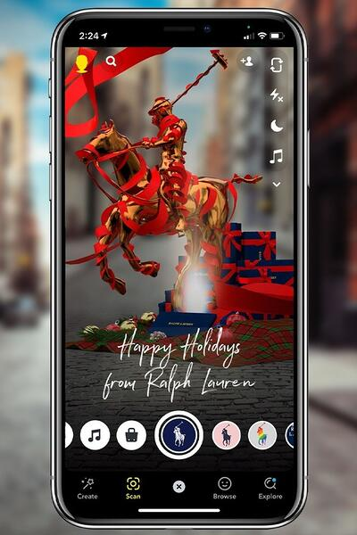 Ralph Lauren augmented reality