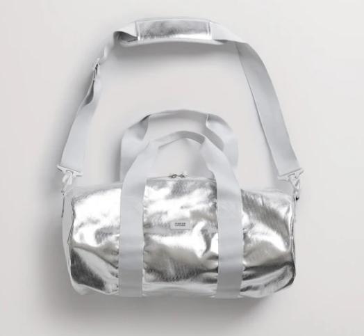 foil gym duffel bag